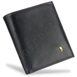 08049a2929ba Portfel męski skórzany czarny 1698p - czarny marki Puccini