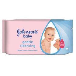Johnson & Johnson Baby Gentle Cleasing Chusteczki Dla Niemowląt 56 Sztuki