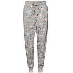 63a9d18e8c930a Hunkemöller Spodnie od piżamy 'Flower' szary / mieszane kolory  (8719582862754)