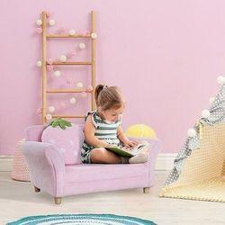 Kanapa sofa dla dziewczynki rose marki Aosom