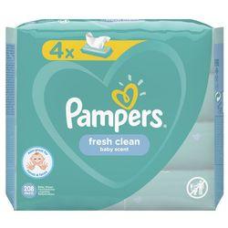 Chusteczki Pampers FreshClean 4x52- natychmiastowa wysyłka, ponad 4000 punktów odbioru!