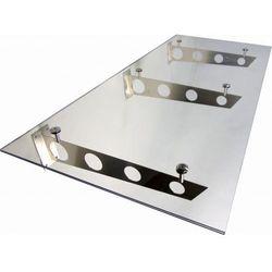Metal-gum Daszek zadaszenie szklane drzwi 200 x 90 ii