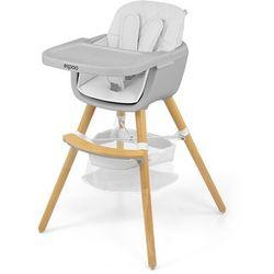 Krzesełko do karmienia espoo /białe/ marki Milly mally