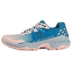 sertig ii gtx low shoes women, różowy/niebieski uk 8,5 | eu 42 2/3 2021 buty turystyczne marki Mammut