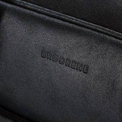 Brødrene Skórzana torba casual męska bl12 czarna