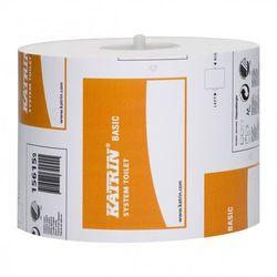 Katrin Papier toaletowy basic system, 1 warstwa, makulatura - 36 rolek