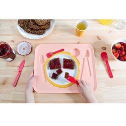 Royal vkb - zestaw stołowy dla dzieci puzzle - różowy marki Royalvkb