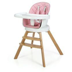 Moolino Krzesełko do karmienia 3w1 orion 2020 różowe