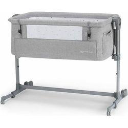 KinderKraft łóżeczko dziecięce Neste UP grey light melange, KKLNESTGRY000N
