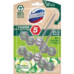 Domestos zawieszka do wc power 5 cucumber & fresh leaves eco, 2 x 55 g (8717163783757)