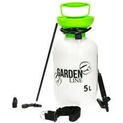 Opryskiwacz ciśnieniowy ręczny. Opryskiwacz ogrodowy do oprysków Garden Line 5l. (5901292682743)