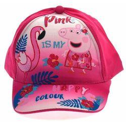 Czapka z daszkiem dla dzieci Świnka Peppa Pink, kolor wielokolorowy