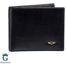 Peterson Kompaktowy portfel męski skórzany 380 rfid