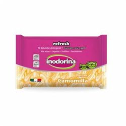 Inodorina refresh camomilla chusteczki nawilżane 15szt marki Indorina