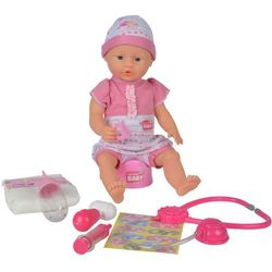Lalka New Born Baby - z akcesoriami Doktora