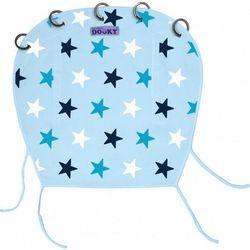 Osłonka do wózka i fotelika Dooky Design - Baby Blue/Blue Stars