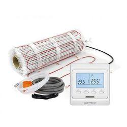 Mata grzejna + regulator temperatury + akcesoria: Kompletny zestaw Warmtec DS2-80/T510 8,0m2 (170W/m2)