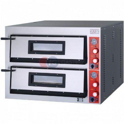 Piece i płyty grzejne gastronomiczne, Piec do pizzy 2-komorowy 2x9x36cm FR-Line szeroki GGF 781912