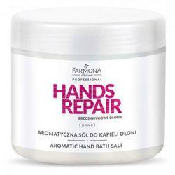Farmona HANDS REPAIR Aromatyczna sól do kąpieli dłoni