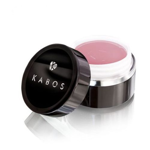 Akryle i żele, Kabos LUXURY GLOSS UV GEL COVER DUSTY ROSE Żel budujący, jednofazowy (beżowo-różowy)