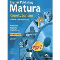 Książki do nauki języka, Matura Repetytorium. Poziom Podstawowy 2015. Książka Nauczyciela + CD (opr. miękka)