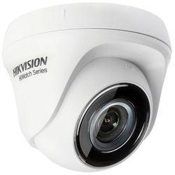 Kamera kopułowa do monitoringu szkoły przedszkola Hikvision Hiwatch HWT-T110-P 4in1 analogowa AHD CVI TVI