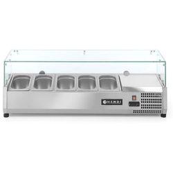 Nadstawa chłodnicza 5x GN 1/4 | 1200x335x(H)430mm