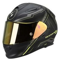 SCORPION EXO-510 AIR SYNC MAT BK-NEON YELL Kask integralny