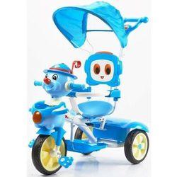 Rower trójkołowy UR-JG859 PAJACYK niebieski - Niebieski
