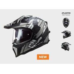 KASK MOTOCYKLOWY ENDURO OFF ROAD KASK MX701 ATLANTIS MATT TITANIUM nowość 2021 roku (1)