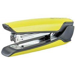 Zszywacz KANGARO Nowa-335S/S, zszywa do 30 kartek, metalowy, w pudełku PP, żółty