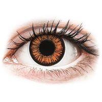 Soczewki kontaktowe, Soczewki kolorowe żółte TWILIGHT Crazy Lens 2 szt.