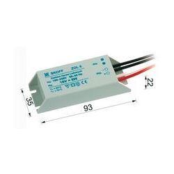 Transformator do diod LED (TANGO, RUEDA) ZOL 6/10V-6W