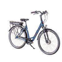 """Rowery elektryczne, Elektryczny rower miejski Devron 28124 28"""" - model 2019, Niebieski, 19,5"""""""