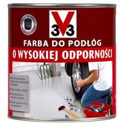 Farba do podłóg V33 wysoka odporność jasny ceglasty 2 5 l