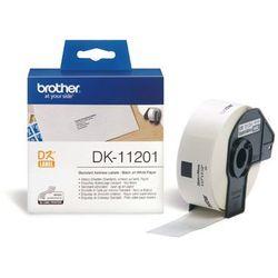 Etykieta papierowa DK11201 do drukarek Brother serii QL (29x90mm)