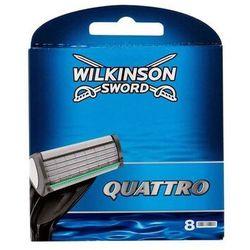 Wilkinson Sword Quattro wkład do maszynki 8 szt dla mężczyzn