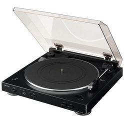 Gramofon Denon DP-200USB Czarny DP-200USB black - odbiór w 2000 punktach - Salony, Paczkomaty, Stacje Orlen