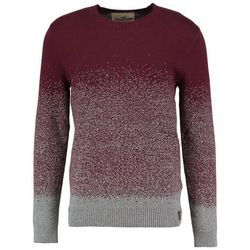 Hollister Co. HOLIDAY PATTERN CREW Sweter burgundy