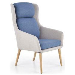 Fotel wypoczynkowy Kossan - niebieski