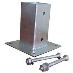 Podpora ze śrubami 45 x 45 mm ocynk