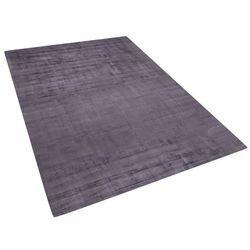 Dywan szary 160x230 cm krótkowłosy - chodnik - wiskoza - GESI
