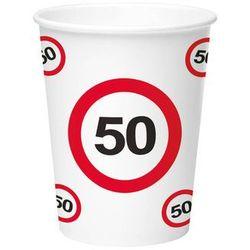 Kubeczki Znak zakazu 50tka - 266 ml - 8 szt.