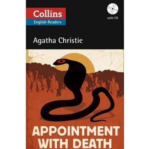 Książki do nauki języka, Appointment with death with CD (opr. miękka)