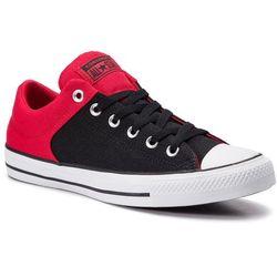 Trampki CONVERSE - Ctas High Street Ox 163218C Enamel Red/Black/White