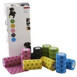 KRUUSE Fun-Flex bandaż elastyczny, mix wzorów i kolorów, 10 cm, 10 szt.