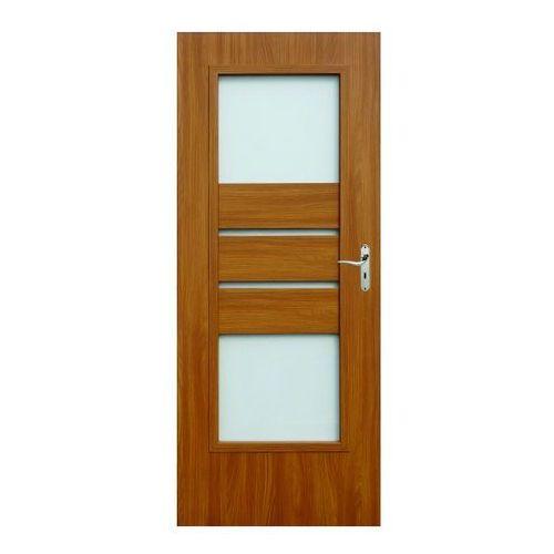 Drzwi wewnętrzne, Drzwi pokojowe Ceres 80 lewe akacja