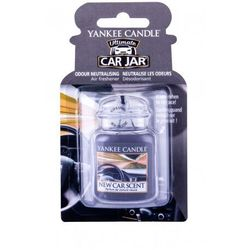 Yankee Candle New Car Scent Car Jar zapach samochodowy 1 szt unisex