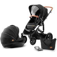 Wózki wielofunkcyjne, KinderKraft wózek dziecięcy PRIME 2w1 Black