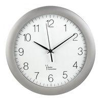 Zegary, Hama Zegar ścienny DCF PG-300 srebrny